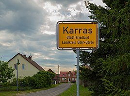 Entrance to Karras