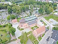 Kartuzy carthusian monastery aerial photograph 2019 P01.jpg