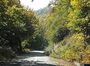 Vitsi - National Road through Vitsi (Verno) Mountain