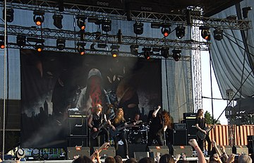 Katatonia at Kavarna Rock Fest 2011, Bulgaria. Katatonia - Kavarana Rock Fest.jpg