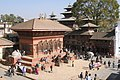 Kathmandu Durbar Square, Shiva Parvati Temple, Nepal.jpg