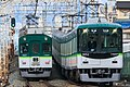 Keihan 5000 series and 9000 series 2018-01-01 (39895288401).jpg