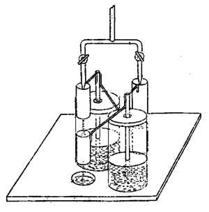 Kelvin water dropper - Kelvin's original 1867 drawing