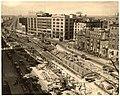 Kenmore Square subway excavation, May 1931.jpg