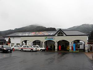 Kesennuma Station - Kesennuma Station in December 2012