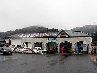 Kesennuma Station - Kesennuma Station in December 2012