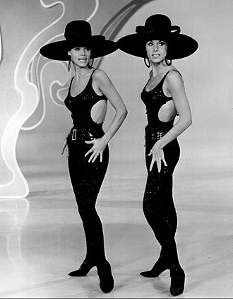 Kessler Twins - The Kessler Twins performing on The Danny Kaye Show in 1966