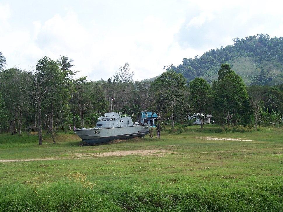 Khao Lak Police Boat 813