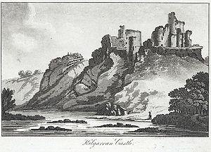 Cilgerran Castle - 'Kilgarran Castle', 1795