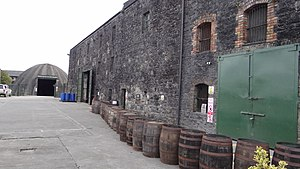 Kilbeggan Distillery - Image: Killebegan 002