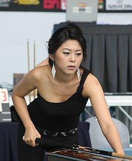 Kim Ga-young South Korean female professional pool player