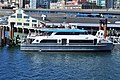 King County Water Taxi 'Doc Maynard' at a temporary terminal on north side of Colman Dock (WSF), August 2017.jpg