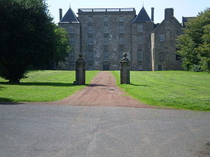 Kinneil House - East front of Kinneil House