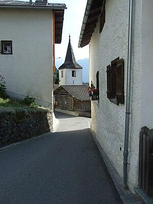 Zillis-Reischen - Reischen village church