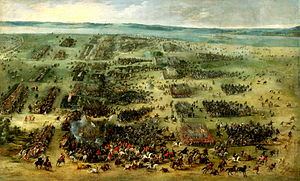 Polish–Swedish wars - Battle of Kirchholm in 1605