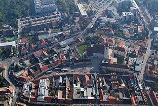 Eisenstadt Place in Burgenland, Austria