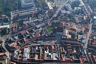 Eisenstadt - Image: Kismarton légifotó3