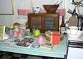 Kitchen tableau, Ngaio Marsh House, December 2005.jpg