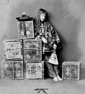 Alexandra Kitchin - Image: Kitchin, Xie 'Tea merchant (off duty)' (Lewis Carroll, 14.07.1873)