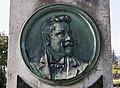 Klagenfurt Annabichl Friedhof Grabstätte Jakob Wald Medaillon-Porträtrelief 28082016 3904.jpg