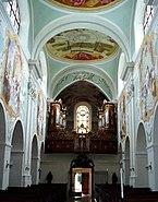 Kleinmariazell Orgel und Eingangstür