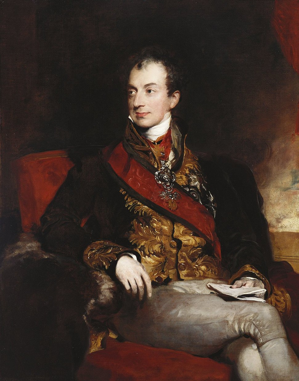 Klemens von Metternich by Lawrence