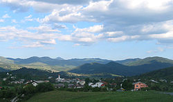 Landscape in the Ilirska Bistrica Municipality