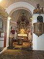 Kocevske Poljane cerkev Kirche Poellandl Altar und Kanzel.jpg