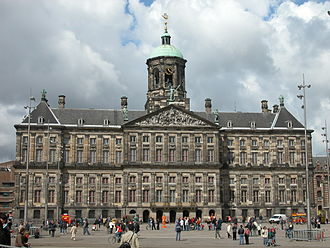 Architecture of the Netherlands - Town Hall of Amsterdam, built in 1665.