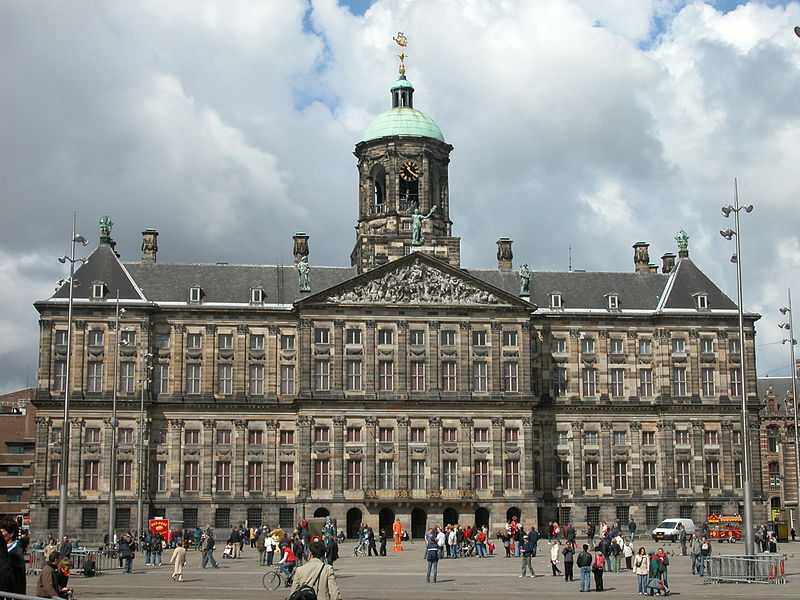 The Royal Palace Amsterdam in 2005