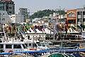 Korea-Tongyeong-Port and ships-03.jpg