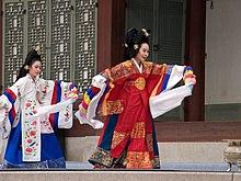 Tarian tradisional Korea  Wikipedia bahasa Indonesia, ensiklopedia bebas