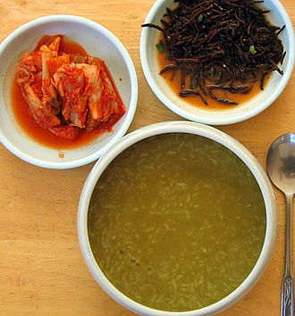 Jeju Province - Jeonbokjuk, abalone porridge
