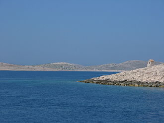 Geography of Croatia - Image: Kornati islands