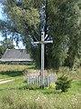 Krucifikss pie Gelutjovas, Robežnieku pagasts, Krāslavas novads, Latvia - panoramio.jpg