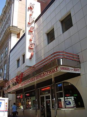 Krystal (restaurant) - A Krystal restaurant in the French Quarter, New Orleans