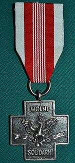 Krzyż Solidarności Walczącej awers
