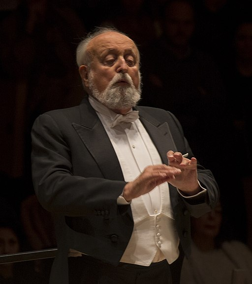Krzysztof Penderecki dirigió a la Orquesta Sinfónica Nacional (29128923540) (cropped)