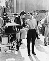 Kubrick & Curtis on the set of Spartacus (1960 publicity photo).jpg