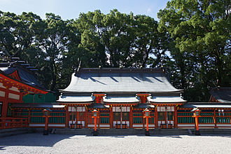 Kumano Hayatama Taisha - Suzumon