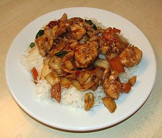 Gaifan - Kung Pao chicken Gaifan