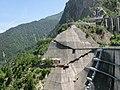 Kurobe Dam Observation Deck and New Observation Area.JPG