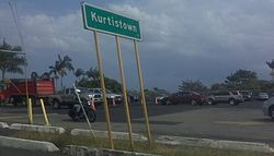 Kurtistown welcome sign