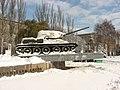 Kyiv - Tank in Peremohy avenue 1.jpg
