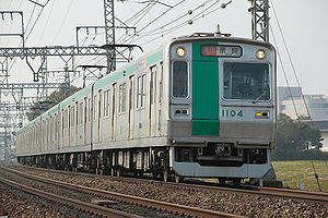 Kyoto Municipal Transportation Bureau - Image: Kyoto City 10 series EMU early type 001