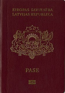 Latvian passport passport