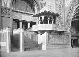 Louis Sullivan - Ornamentation in the Transportation Building, Chicago, 1893–94