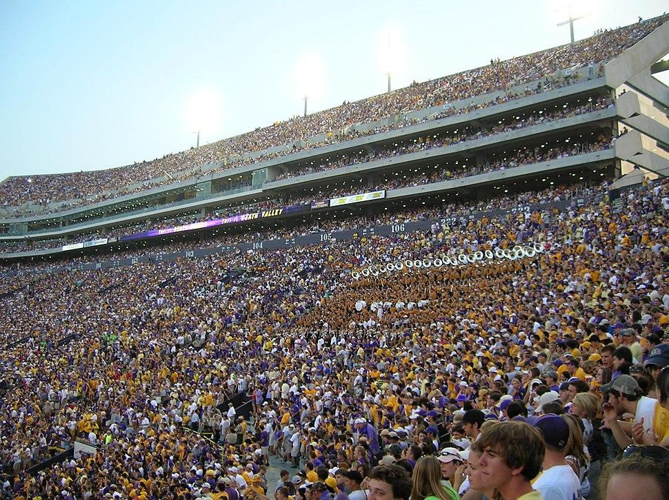 LSU Tiger Stadium west side