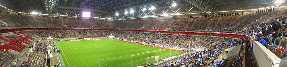 Panorama der LTU arena