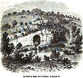 La Grotte de Jason, prés de Koutaïs, en Imereth. Édouard Charton. Voyageurs anciens et modernes. 1854.jpg